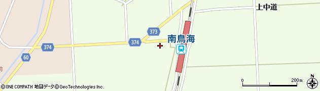 山形県酒田市米島下中道26周辺の地図