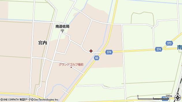 山形県酒田市宮内本楯110周辺の地図