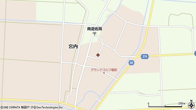 山形県酒田市宮内本楯68周辺の地図