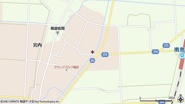 山形県酒田市宮内本楯180周辺の地図