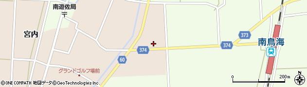 山形県酒田市宮内草田14周辺の地図