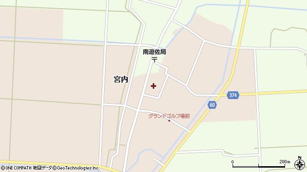 山形県酒田市宮内本楯65周辺の地図