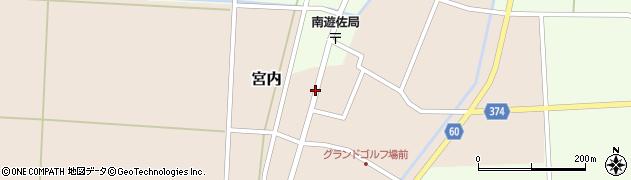 山形県酒田市宮内本楯56周辺の地図
