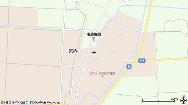 山形県酒田市宮内本楯64周辺の地図
