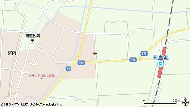 山形県酒田市宮内草田15周辺の地図