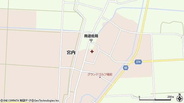 山形県酒田市宮内本楯61周辺の地図