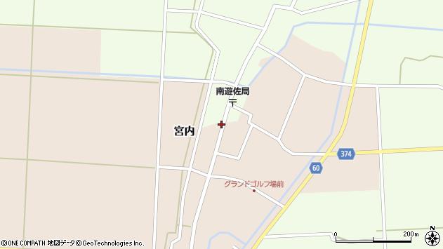 山形県酒田市宮内本楯59周辺の地図