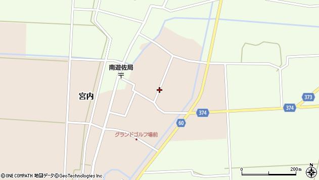 山形県酒田市宮内本楯101周辺の地図