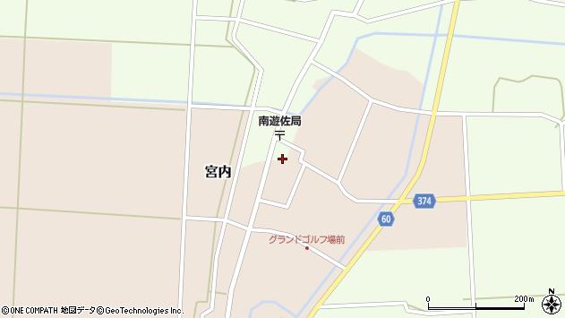 山形県酒田市千代田外野1周辺の地図