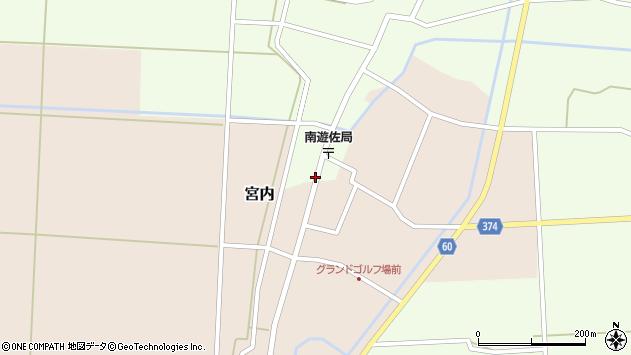 山形県酒田市千代田外野16周辺の地図
