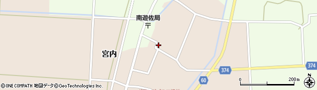 山形県酒田市宮内本楯78周辺の地図