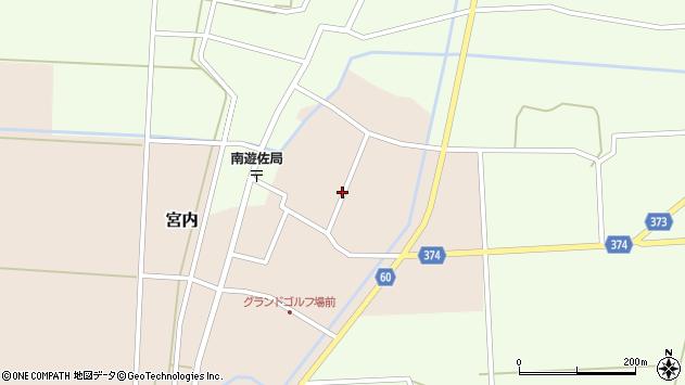 山形県酒田市宮内本楯104周辺の地図