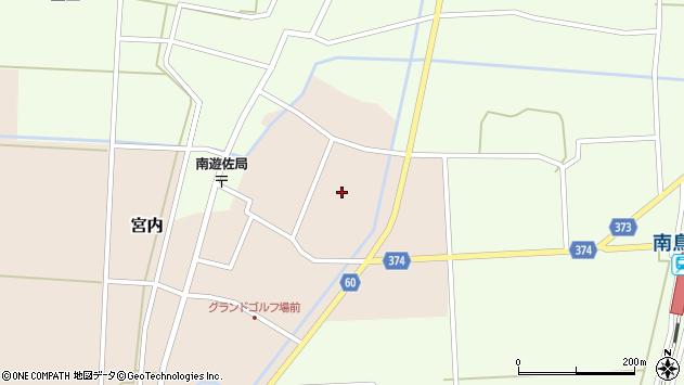 山形県酒田市宮内本楯119周辺の地図