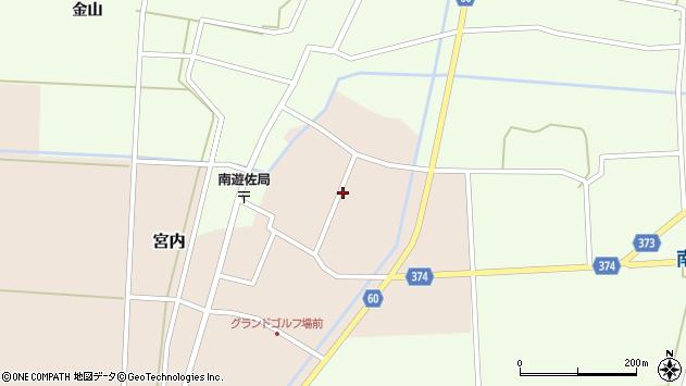山形県酒田市宮内本楯122周辺の地図