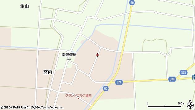 山形県酒田市宮内本楯123周辺の地図