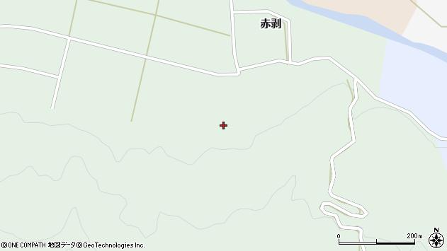 山形県酒田市赤剥深田周辺の地図