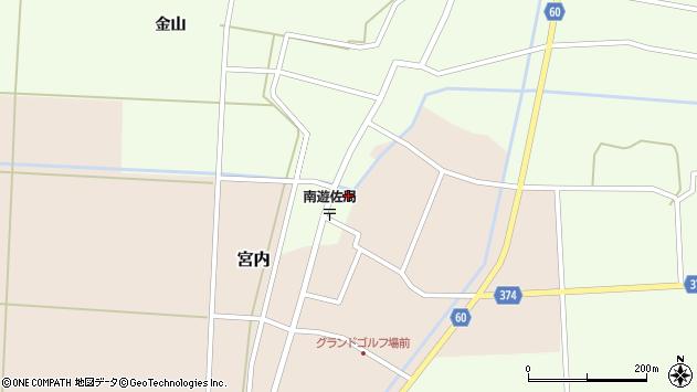 山形県酒田市千代田外野6周辺の地図