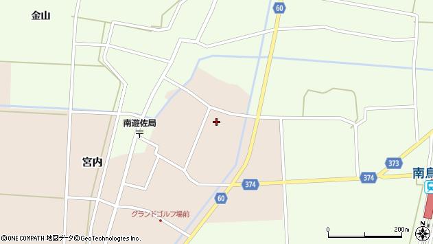 山形県酒田市宮内本楯173周辺の地図