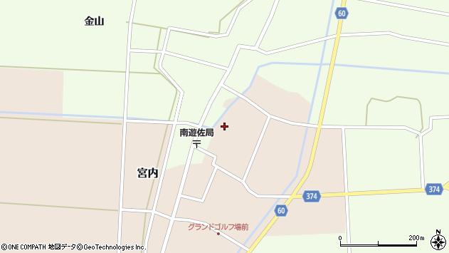 山形県酒田市宮内本楯135周辺の地図