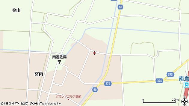 山形県酒田市宮内本楯172周辺の地図