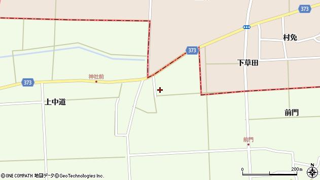 山形県酒田市米島樋の口周辺の地図
