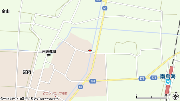 山形県酒田市宮内本楯333周辺の地図