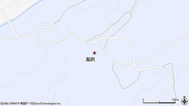 山形県酒田市泥沢上村42周辺の地図
