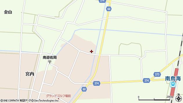 山形県酒田市宮内本楯334周辺の地図
