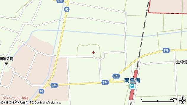 山形県酒田市米島中草田25周辺の地図