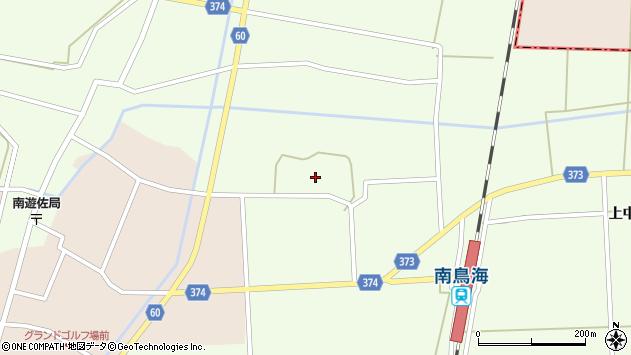 山形県酒田市米島中草田30周辺の地図