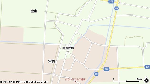 山形県酒田市千代田外野34周辺の地図