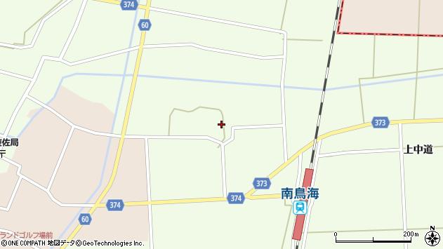 山形県酒田市米島中草田24周辺の地図