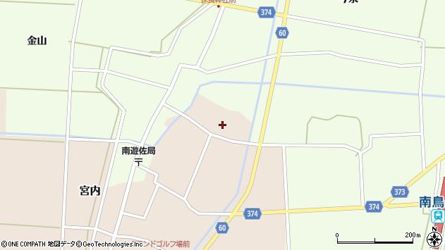 山形県酒田市宮内本楯171周辺の地図