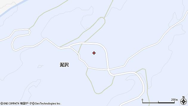 山形県酒田市泥沢宮ノ東28周辺の地図