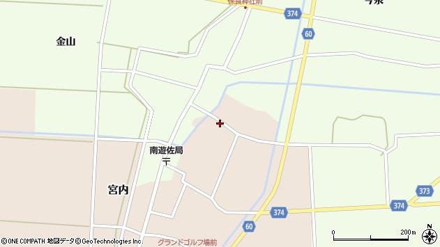 山形県酒田市宮内本楯137周辺の地図