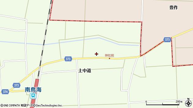 山形県酒田市米島上草田81周辺の地図