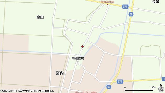 山形県酒田市千代田外野38周辺の地図