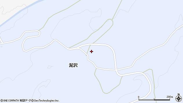 山形県酒田市泥沢宮ノ下周辺の地図