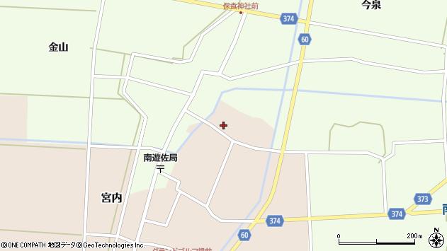 山形県酒田市宮内本楯144周辺の地図