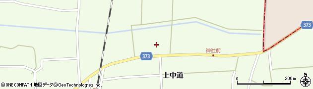山形県酒田市米島上草田93周辺の地図