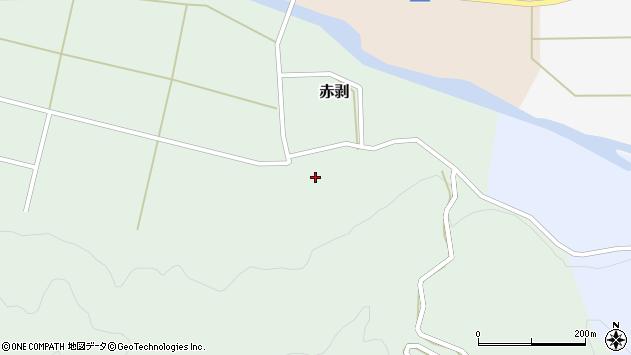 山形県酒田市赤剥村腰69周辺の地図
