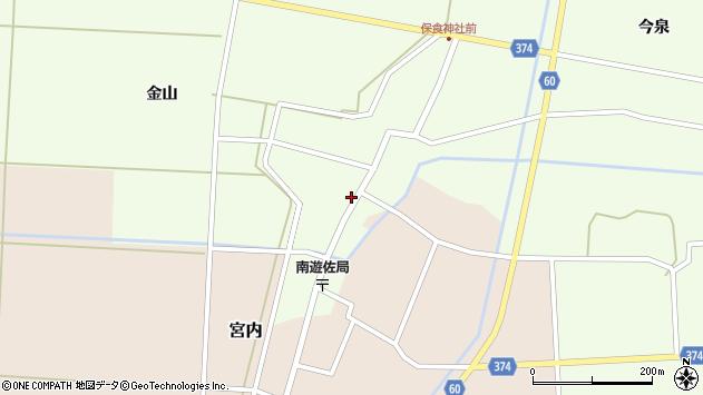 山形県酒田市千代田外野44周辺の地図