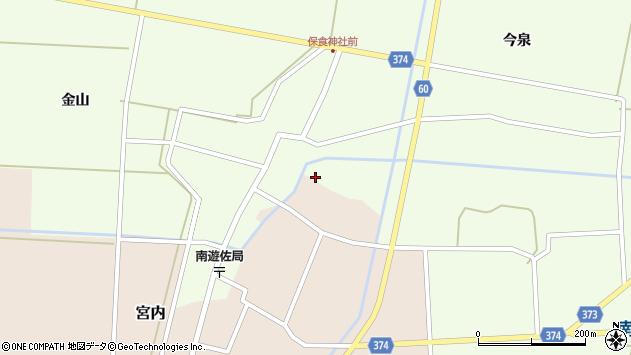 山形県酒田市宮内本楯349周辺の地図