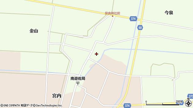 山形県酒田市千代田外野53周辺の地図