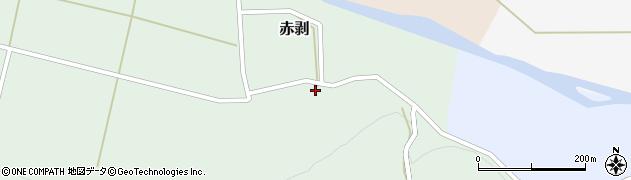 山形県酒田市赤剥村腰72周辺の地図