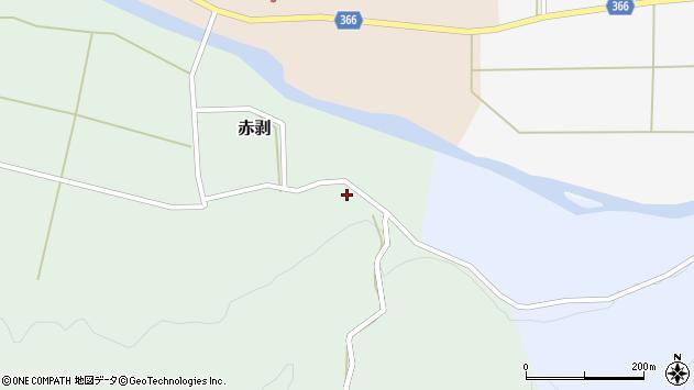 山形県酒田市赤剥村腰101周辺の地図