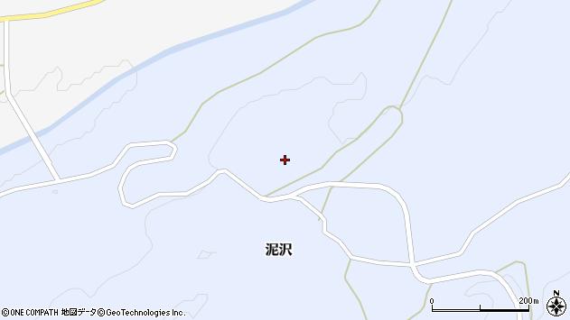 山形県酒田市泥沢墓ノ下周辺の地図