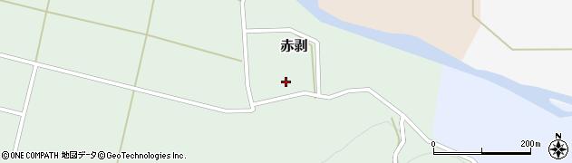 山形県酒田市赤剥村腰31周辺の地図
