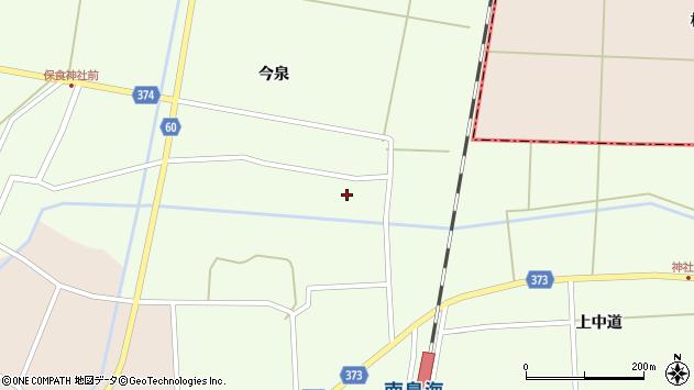 山形県酒田市千代田宅田78周辺の地図