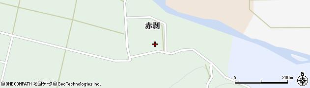 山形県酒田市赤剥村腰30周辺の地図